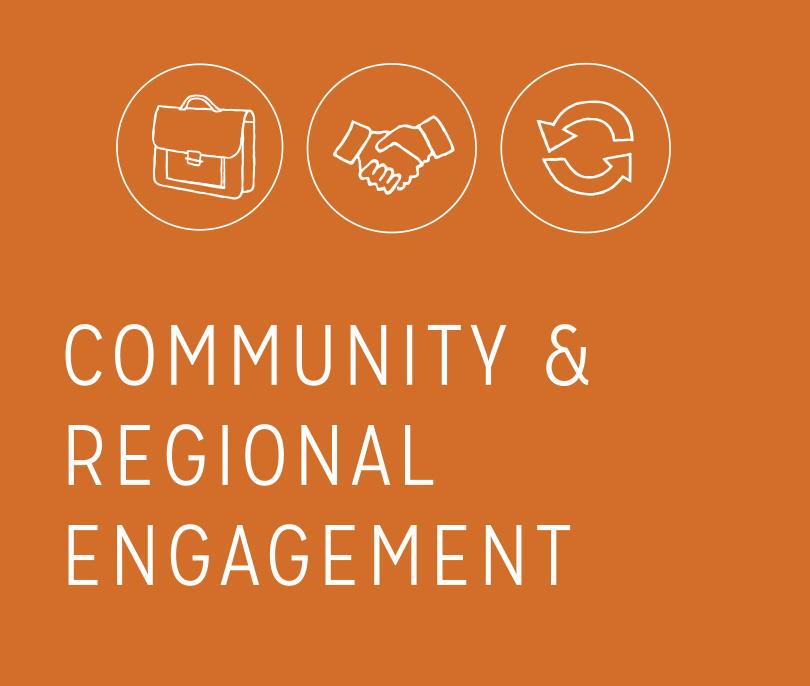 Community & Regional Engagement